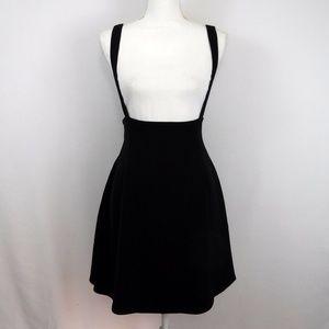Modcloth Black  Strap Dress Size Medium